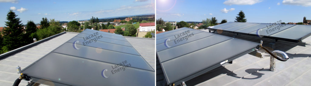 Installation solaire thermique - EHPAD - Auvergne