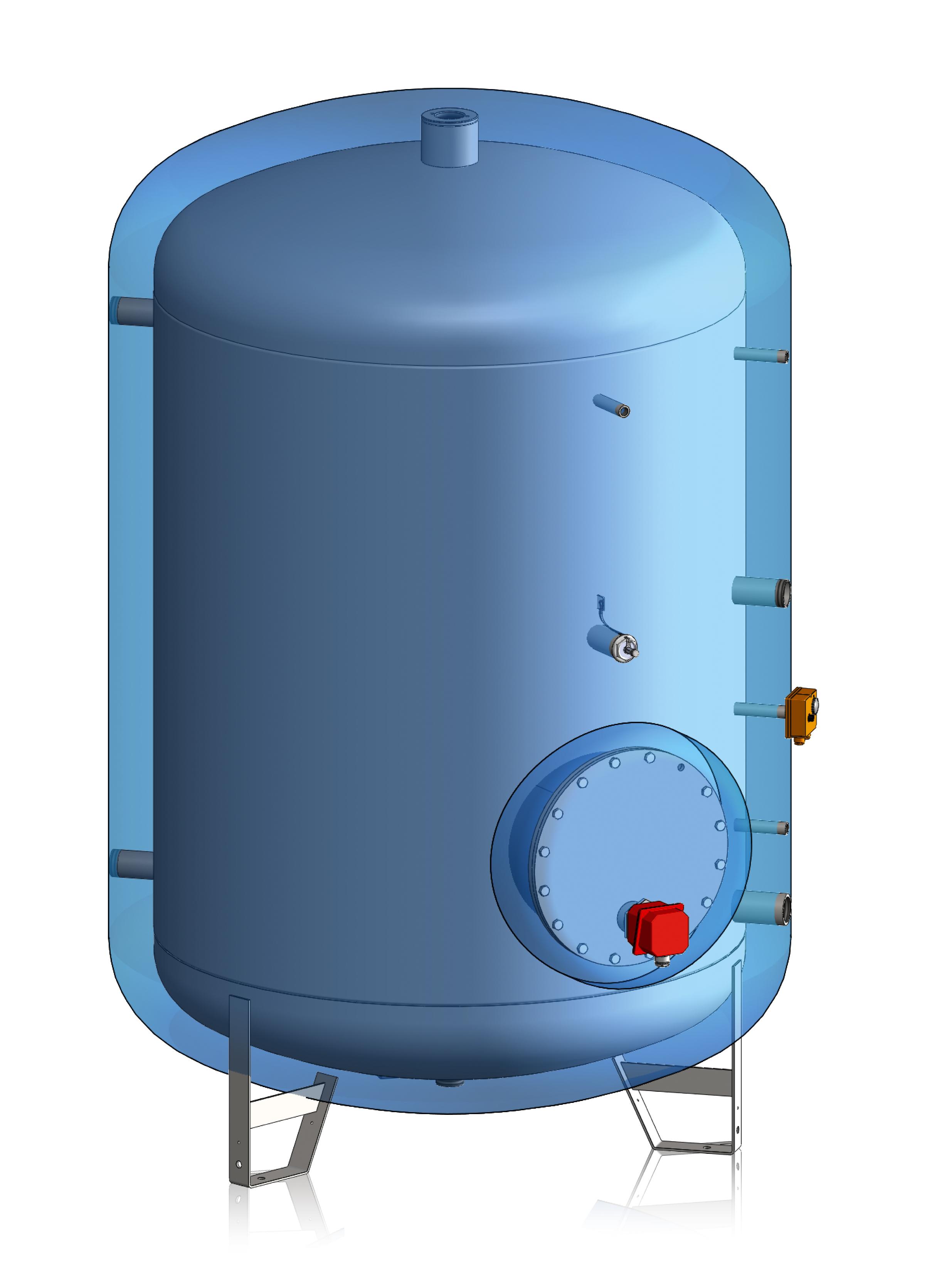Branchement du réservoir d'eau chaude